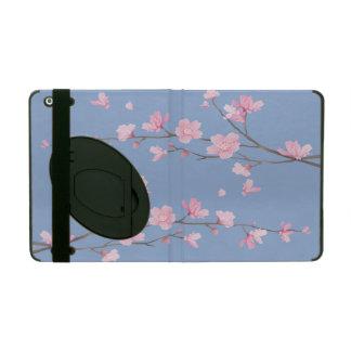 Funda Para iPad Flor de cerezo - azul de la serenidad