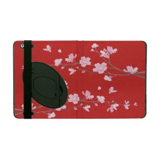 Funda Para iPad Flor de cerezo - rojo