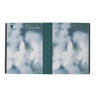 Funda Para iPad Flores blancos hermosos