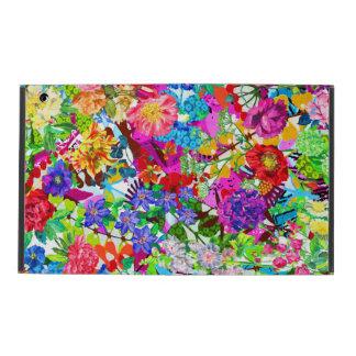 Funda Para iPad Flores mágicas coloridas lindas
