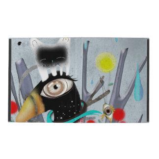 Funda Para iPad Gato y pingüino