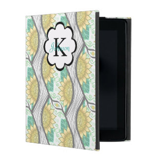 Funda Para iPad Girasol decorativo abstracto Personalizable