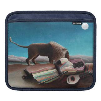 Funda Para iPad Henri Rousseau el vintage gitano el dormir