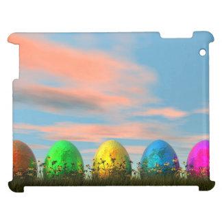 Funda Para iPad Huevos coloridos para pascua - 3D rinden