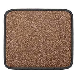 Funda Para iPad Imitación de cuero Brown natural