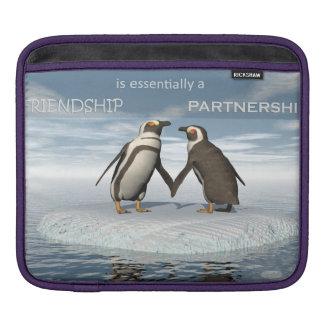Funda Para iPad La amistad es essentailly una sociedad
