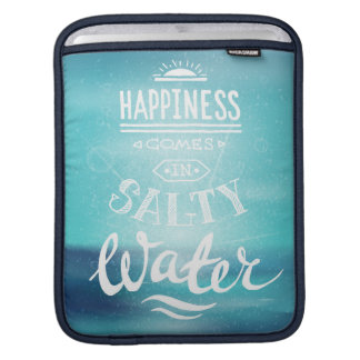 Funda Para iPad La felicidad viene en agua salada