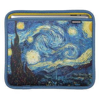 Funda Para iPad La noche estrellada por la manga del iPad de Van