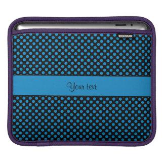 Funda Para iPad Lunares azules