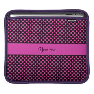 Funda Para iPad Lunares rosados