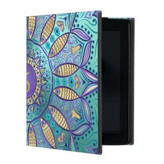 Funda Para iPad Mandala del Capricornio de la muestra del zodiaco