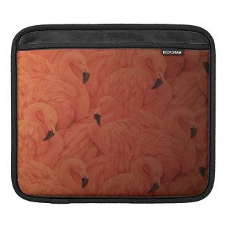 Funda Para iPad Manga rosada tropical del iPad de los flamencos