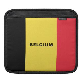 Funda Para iPad Mangas del iPad de la bandera de Bélgica