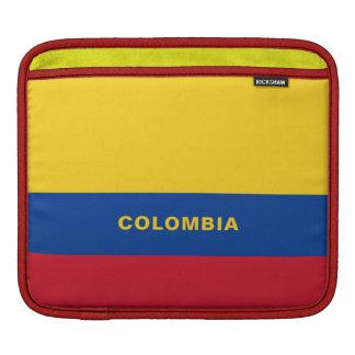 Funda Para iPad Mangas del iPad de la bandera de Colombia