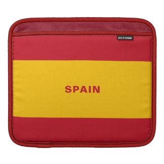 Funda Para iPad Mangas del iPad de la bandera de España