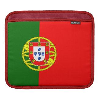 Funda Para iPad Mangas del iPad de la bandera de Portugal