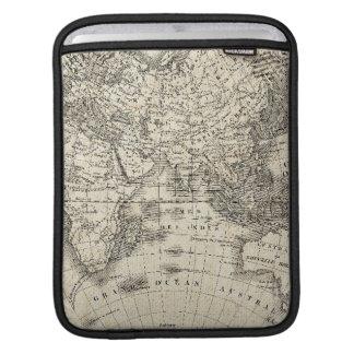 Funda Para iPad Mapa del vintage de Europa y de Asia