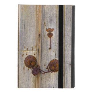 Funda Para iPad Mini 4 Candado viejo del hierro del vintage oxidado en