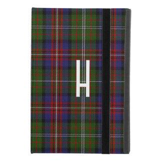 Funda Para iPad Mini 4 Caso 4 del iPad de encargo de la tela escocesa de