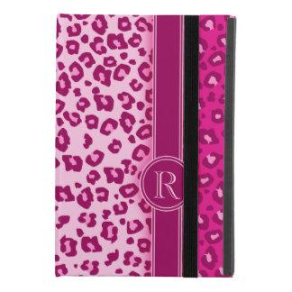 Funda Para iPad Mini 4 Caso rosado del ipad del monograma del estampado