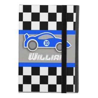 Funda Para iPad Mini 4 el coche de deportes azul auto de los niños nombró