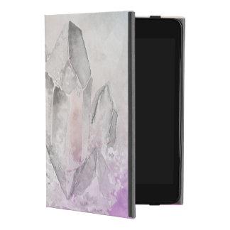 Funda Para iPad Mini 4 Falsa energía Amethyst Chakra de la cura