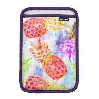 Funda Para iPad Mini Acuarela hermosa del modelo tropical de la piña