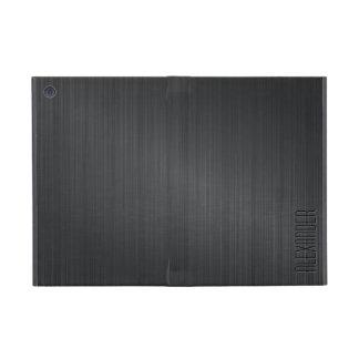 Funda Para iPad Mini Aluminio cepillado una mirada metálica gris más