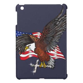 Funda Para iPad Mini American Eagle con la cruz