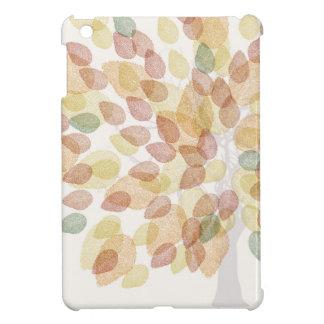 Funda Para iPad Mini Árbol de abedul en colores de la caída