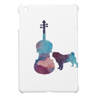 Funda Para iPad Mini Arte del barro amasado de la viola