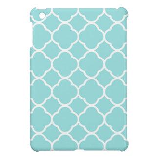 Funda Para iPad Mini Azul Quatrefoil de Shell de la lapa