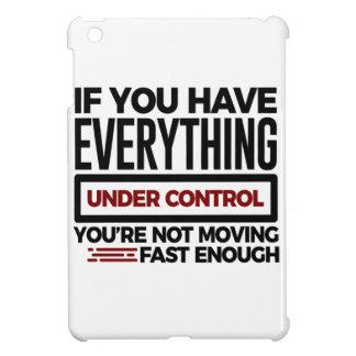 Funda Para iPad Mini Bajo control reduzca también más velocidad