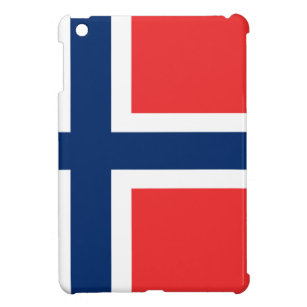 Funda Para iPad Mini ¡Bajo costo! Bandera de Noruega