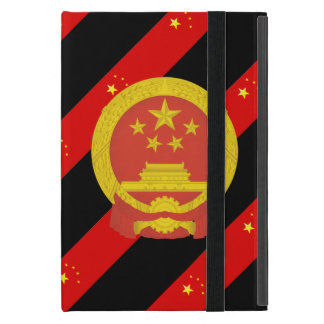 Funda Para iPad Mini Bandera china de las rayas
