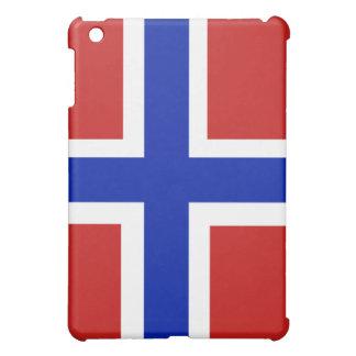 Funda Para iPad Mini Bandera del escandinavo de Noruega