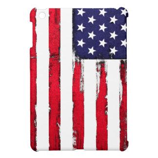 Funda Para iPad Mini Bandera patriótica americana del Grunge