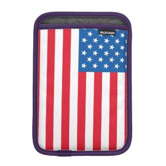 Funda Para iPad Mini Barras y estrellas de la bandera de los E.E.U.U.