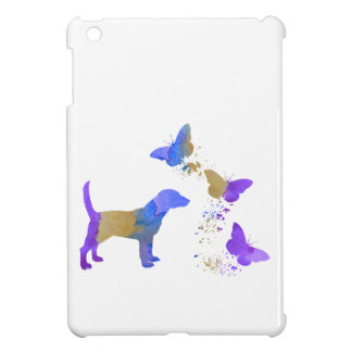 Funda Para iPad Mini Beagle y mariposas