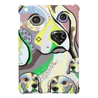 Funda Para iPad Mini Beagle y paleta de colores suave de los bebés