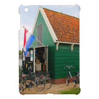 Funda Para iPad Mini Bicicletas, pueblo holandés del molino de viento,
