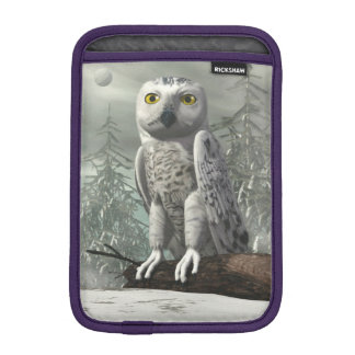 Funda Para iPad Mini Búho blanco - 3D rinden