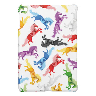 Funda Para iPad Mini Caballos de salto coloreados del modelo