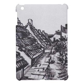Funda Para iPad Mini Calle en Saintes-Maries de Vincent van Gogh