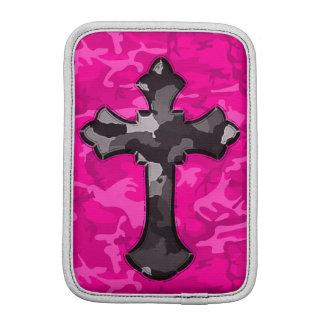 Funda Para iPad Mini Camo rosado con la cruz