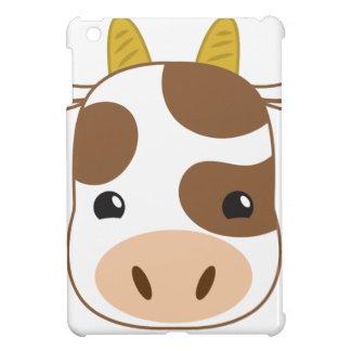 Funda Para iPad Mini cara linda de la vaca