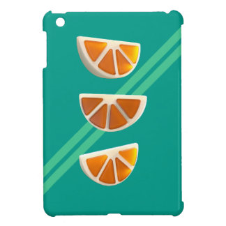 Funda Para iPad Mini Caramelo anaranjado del Chew
