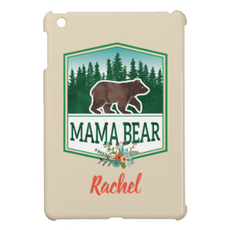 Funda Para iPad Mini Caso del iPad de mamá Bear Outdoorsy
