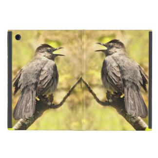 Funda Para iPad Mini Catbirds grises del canto iPad mini caso