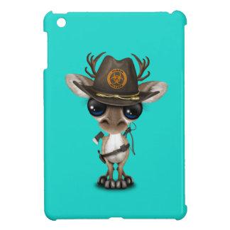 Funda Para iPad Mini Cazador del zombi del reno del bebé
